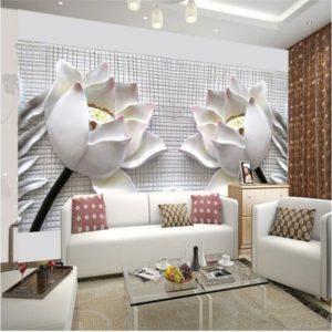 hiasan dinding minimalis 3 Dimensi